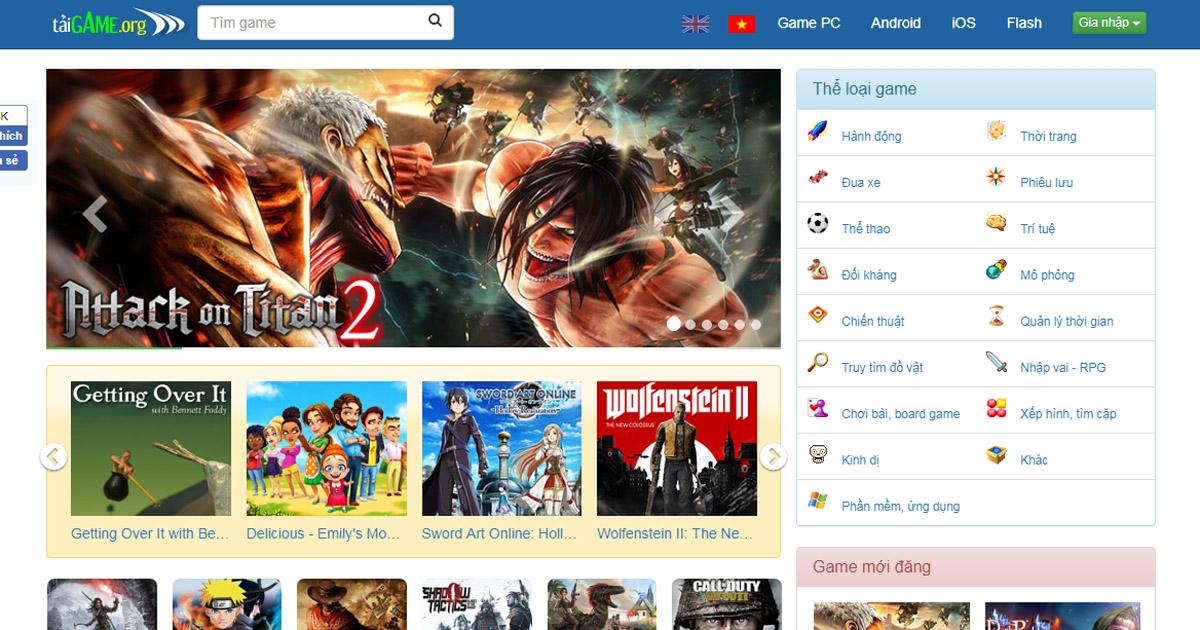 Tai game mien phi, download game mini, choi game online